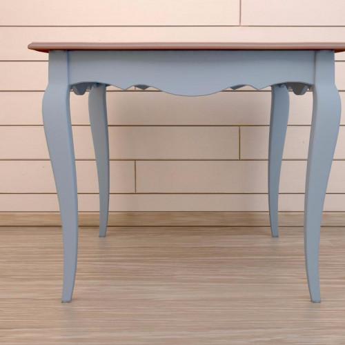 """Квадратный обеденный стол """"Leontina Blue"""""""