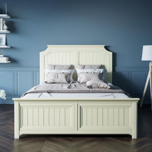 """Бежевая кровать """"Olivia"""" 160х200"""