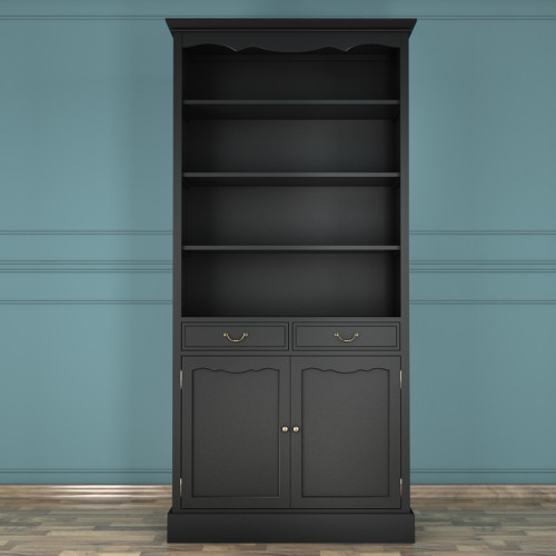 """Книжный шкаф """"Leontina Black"""""""