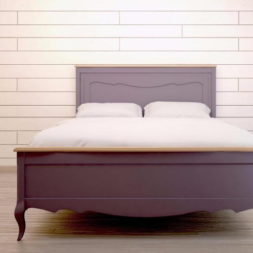 """Дизайнерская кровать """"Leontina Lavanda"""" 160x200"""