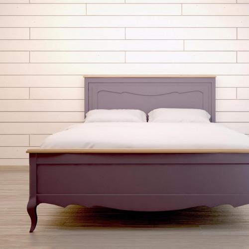 """Дизайнерская кровать """"Leontina Lavanda"""" 180x200"""