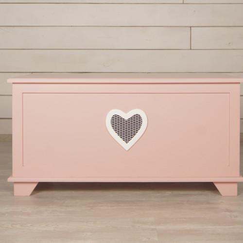 """Сундук """"Adelina"""" малый в розовом цвете"""