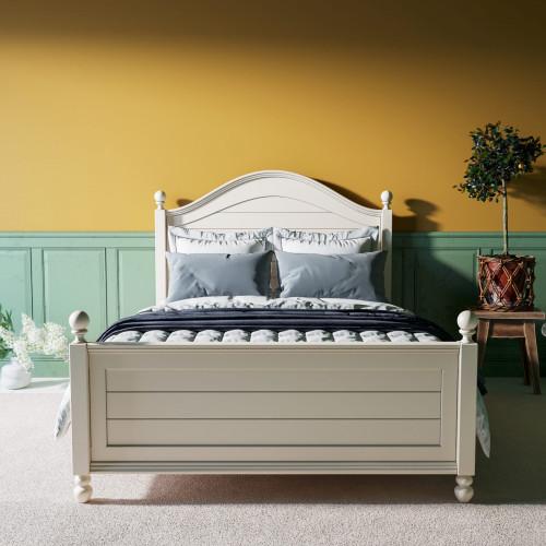 """Кровать в стиле Прованс """"Odri"""" 140 на 200"""