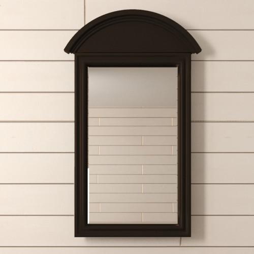 """Зеркало """"Leontina Black"""" прямоугольное"""