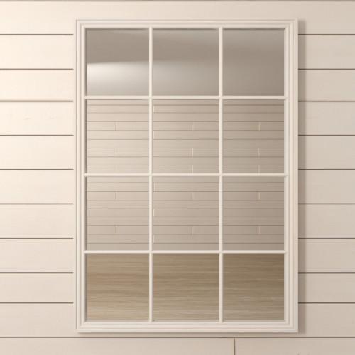 "Зеркало ""Florence"" белое"