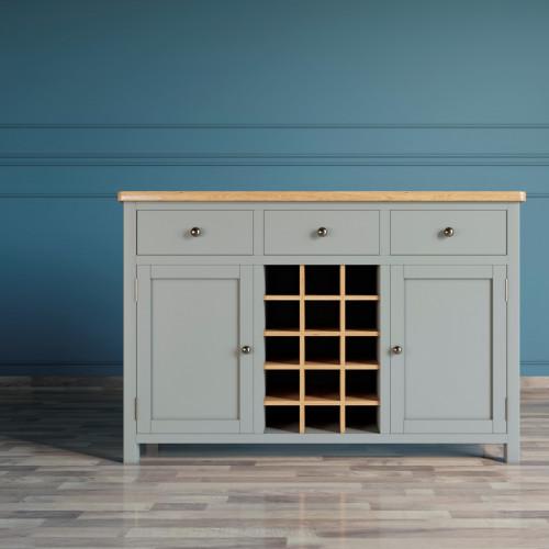 """Винный шкаф """"Jules Verne"""" серый"""