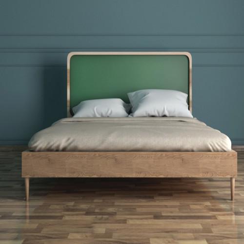 """Кровать в Скандинавском стиле """"Ellipse"""" 120*190"""